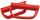Sicherheitsgriff, Handgriff für Rohrdurchmesser 28 mm, Farbe: RAL 2002 / Nr. 1795 C