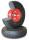 Pannensicheres Rad, 260 x 85 mm, schwarz, Durchmesser 260 x 85 mm, Gummi-Schaum-Rad