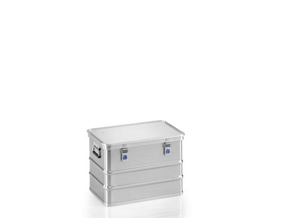 Transportkiste, G®-premium plus BOX A 1589 / 73, 553x353x380 mm, Tragkraft 50 kg, aus Aluminium