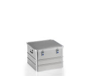 Transportkiste, G®-premium plus BOX A 1589 / 115, 553x553x382 mm, Tragkraft 50 kg, aus Aluminium