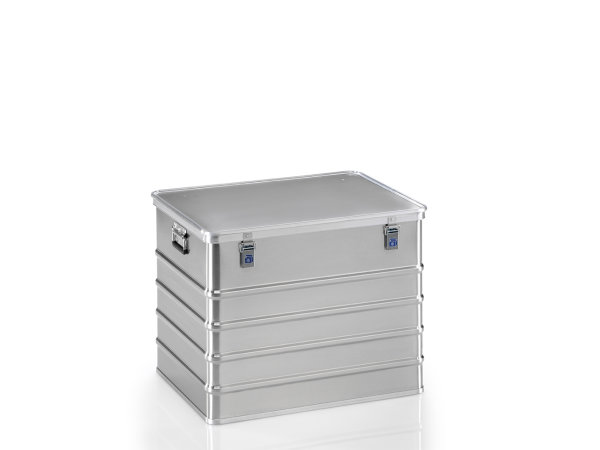 Transportkiste, G®-premium plus BOX A 1589 / 239, 753x553x580 mm, Tragkraft 75 kg, aus Aluminium