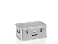 Transportkiste aus Strukturblech, G®-professional BOX A 1599 / 42, 553x353x220 mm, Tragkraft 50 kg, aus Aluminium