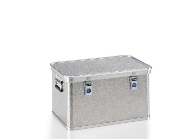 Transportkiste aus Strukturblech, G®-professional BOX A 1599 / 60, 553x353x300 mm, Tragkraft 50 kg, aus Aluminium