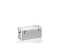 Transportkiste aus Strukturblech, G®-professional BOX A 1599 / 81, 753x353x310 mm, Tragkraft 50 kg, aus Aluminium