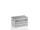Transportkiste aus Strukturblech, G®-professional BOX A 1599 / 115, 686x486x358 mm, Tragkraft 75 kg, aus Aluminium