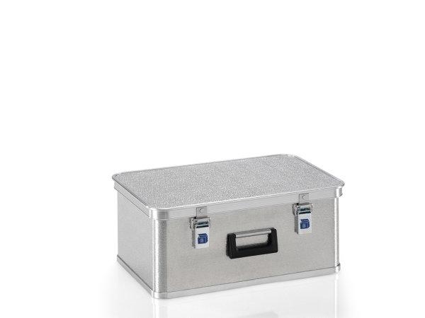 Box aus Strukturblech, G®-allround BOX A 1539 / 42, 550x350x220 mm, Tragkraft 30 kg, aus Aluminium