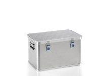 Box aus Strukturblech, G®-allround BOX A 1539 / 60, 550x350x310 mm, Tragkraft 30 kg, aus Aluminium