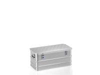 Box aus Strukturblech, G®-allround BOX A 1539 / 81, 750x350x310 mm, Tragkraft 50 kg, aus Aluminium