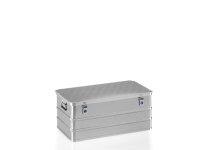 Box aus Strukturblech, G®-allround BOX A 1539 / 135, 850x450x350 mm, Tragkraft 75 kg, aus Aluminium