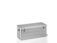 Rollbox aus Strukturblech, G®-roll BOX A 1599 / 150 R, 975x415x375 mm, Tragkraft 75 kg, aus Aluminium