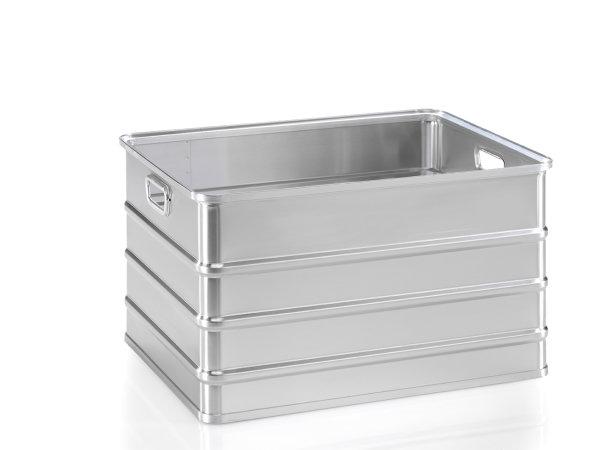 Transportkasten, G®-CRATE A 152 / 155, 728x548x405 mm, Tragkraft 50 kg, aus Aluminium