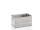 Stapelkorb gelocht, G®-STACK A 113 / 1 , 544x340x270 mm, Tragkraft 40 kg, aus Aluminium