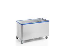 Federbodenwagen, G®-ERGO D 5408 / 580 Vario, 1400x700x620 mm, aus Aluminium, nicht eloxiert