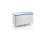 Federbodenwagen, G®-ERGO D 5408 / 580 A SC Vario, 1400x700x620 mm, aus Aluminium, eloxiert