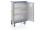 Schrankwagen eloxiert, G®-CUP E 2724 ID, 1130x520x1430 mm, Tragkraft 300 kg, aus Aluminium, eloxiert