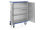 Schrankwagen eloxiert, G®-CUP E 2726 ID , 1255x600x1430 mm, Tragkraft 300 kg, aus Aluminium, eloxiert