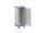 Modul-Schrankwagen eloxiert, G®-CUP ISO E 2731 ID , 465x635x1167 mm, Tragkraft 100 kg, aus Aluminium, eloxiert