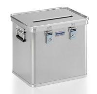 Datenentsorgungsbehälter, G®-DOCU A 1569 / 50 E, 422x335x368 mm, Tragkraft 50 kg, aus Aluminium