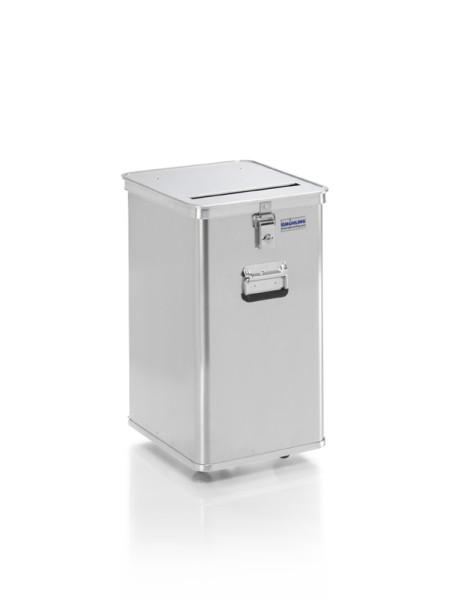 Datenentsorgungsbehälter, G®-DOCU D 1009 / 80, 400x350x575 mm, Tragkraft 50 kg, aus Aluminium