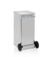 Datenentsorgungsbehälter, G®-DOCU D 1009 / 240 , 450x550x990 mm, Tragkraft 100 kg, aus Aluminium