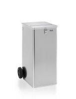 Datenentsorgungsbehälter, G®-DOCU D 1009 / 240 ergonomic, 450x550x990 mm, Tragkraft 100 kg, aus Aluminium
