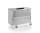 Datenentsorgungsbehälter, G®-DOCU D 3709 / 650 E2HS, 1250x645x800 mm, Tragkraft 250 kg, aus Aluminium