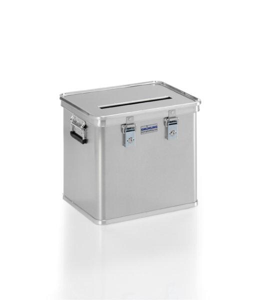 Wahlurne , G®-Vote A 1569 / 50  , 422x335x368 mm, Tragkraft 50 kg, aus  Aluminium