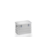 Transportkiste mit GGVSE-Zulassung 4B Y, G®-safe BOX A 1589/73  4B Y  BAM, 553x353x380 mm, Tragkraft 56 kg, aus Aluminium