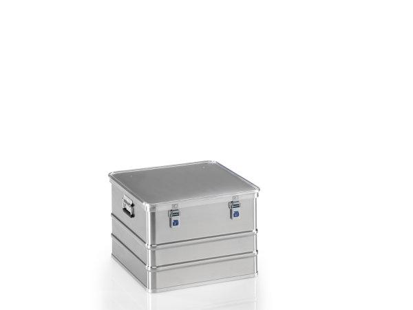 Transportkiste mit GGVSE-Zulassung 4B Y, G®-safe BOX A 1589/115  4B Y  BAM, 553x553x382 mm, Tragkraft 71 kg, aus Aluminium