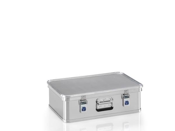 Transportkiste mit GGVSE-Zulassung 4B X, G®-safe BOX A 1589/29  4B X  BAM, 553x353x150 mm, Tragkraft 40 kg, aus Aluminium