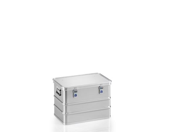 Transportkiste mit GGVSE-Zulassung 4B X, G®-safe BOX A 1589/73  4B X  BAM, 553x353x380 mm, Tragkraft 56 kg, aus Aluminium