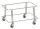 Einkaufskorb Sammelwagen, 430x285x285 mm, 50 kg Tragfähigkeit, Verzinkt