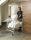 Gitterwagen, 800x600x915 mm, 100 kg Tragfähigkeit, Weiß