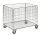 Gitterwagen, 830x630x735 mm, 60 kg Tragfähigkeit, Verzinkt