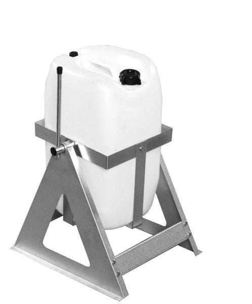 Fassausgießer, 280x260x410 mm, 25 kg Tragfähigkeit, Grau