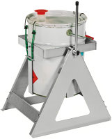 Fassausgießer, 285x280x410 mm, 25 kg Tragfähigkeit, Grau