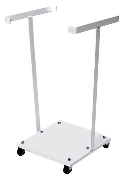 Müllsackständer , 340x340x710 mm, 30 kg Tragfähigkeit, Weiß