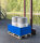 Sicherheitscontainer für Wannen, Flaschen, Fässer, 1240x800x415 mm, Blau