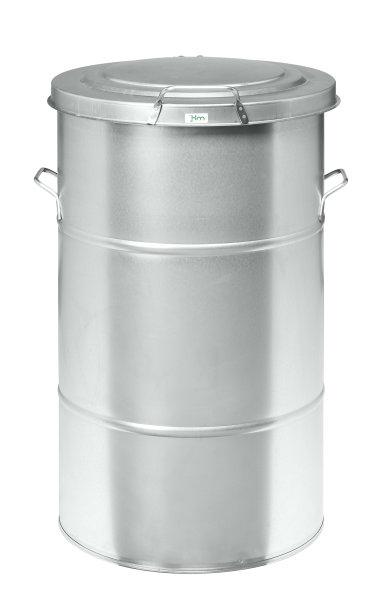 Abfallbehälter 70 l, 415x415x630 mm, Verzinkt
