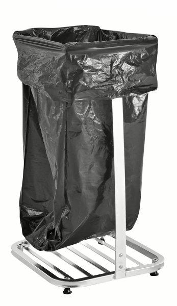 ESD-Müllsackständer, 500x450x900 mm, 75 kg Tragfähigkeit, Verzinkt