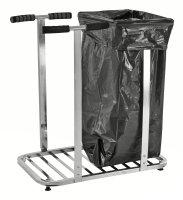 ESD-Müllsackständer, 770x470x900 mm, 75 kg Tragfähigkeit, Verzinkt