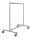 Kleiderständer, 1180x710x1830 mm, 75 kg Tragfähigkeit, Grau