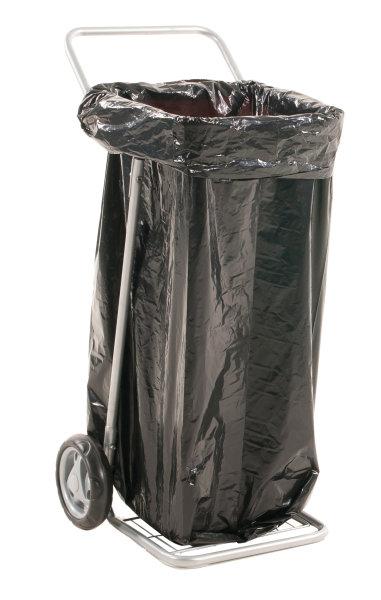Müllsackständer , 580x470x940 mm, 50 kg Tragfähigkeit, Grau