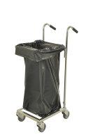 Müllsackständer , 660x385x1090 mm, 35 kg Tragfähigkeit, Verzinkt