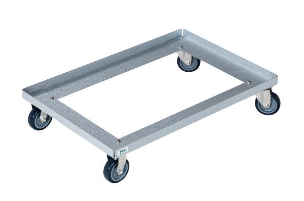 Rollwagen, 616x416x128 mm, 100 kg Tragfähigkeit, Verzinkt
