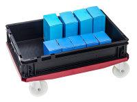Rollwagen, 615x415x170 mm, 200 kg Tragfähigkeit,...