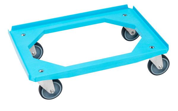 Rollwagen, 615x415x170 mm, 200 kg Tragfähigkeit, Blau