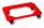 Rollwagen, 625x425x170 mm, 250 kg Tragfähigkeit, Rot