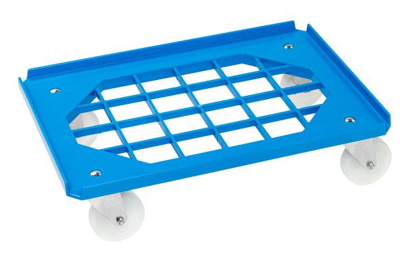 Rollwagen, 625x425x170 mm, 275 kg Tragfähigkeit, Blau