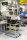 ESD-Etagenwagen mit 2 Böden, 2 Ebenen, 900 x 540 mm, 250 kg Tragfähigkeit, Verzinkt, mit Bremsen